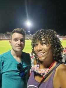 Darla attended Phoenix Rising FC vs. Tacoma Defiance - USL on Jun 12th 2021 via VetTix