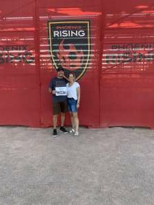 Chris Russell attended Phoenix Rising FC vs. Tacoma Defiance - USL on Jun 12th 2021 via VetTix