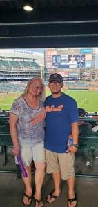 Mel Pzzolo attended Detroit Tigers vs. Seattle Mariners - MLB on Jun 8th 2021 via VetTix
