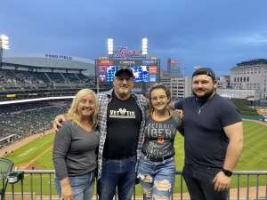 Mark Gentry attended Detroit Tigers vs. Seattle Mariners - MLB on Jun 8th 2021 via VetTix