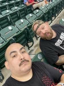 Aaron9216 attended Detroit Tigers vs. Seattle Mariners - MLB on Jun 8th 2021 via VetTix