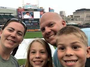 Cpl Benjamin Thomas attended Detroit Tigers vs. Seattle Mariners - MLB on Jun 8th 2021 via VetTix
