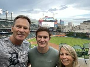 Calvin G attended Detroit Tigers vs. Seattle Mariners - MLB on Jun 8th 2021 via VetTix