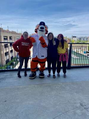 Kelley  attended Detroit Tigers vs. Seattle Mariners - MLB on Jun 8th 2021 via VetTix