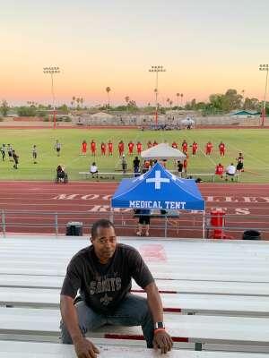 Carl M attended AZ Outkast vs. Kern County Crusaders - Women's Tackle Football on Jun 12th 2021 via VetTix
