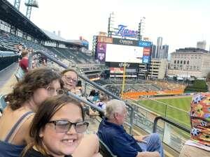 Eric attended Detroit Tigers vs. Seattle Mariners - MLB on Jun 9th 2021 via VetTix