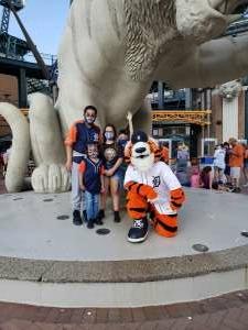 KARS attended Detroit Tigers vs. Seattle Mariners - MLB on Jun 9th 2021 via VetTix
