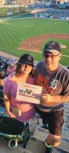 Thomas attended Detroit Tigers vs. Seattle Mariners - MLB on Jun 9th 2021 via VetTix