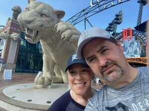 Darin attended Detroit Tigers vs. Seattle Mariners - MLB on Jun 9th 2021 via VetTix