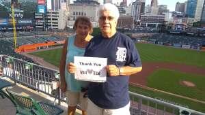 Jim Taube attended Detroit Tigers vs. Seattle Mariners - MLB on Jun 9th 2021 via VetTix