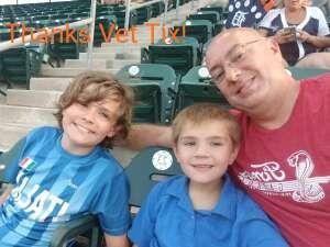 ABF3 Frank attended Detroit Tigers vs. Seattle Mariners - MLB on Jun 9th 2021 via VetTix