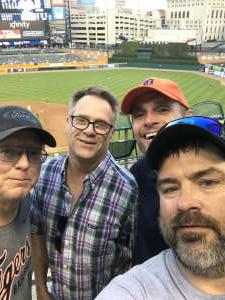 Deano  attended Detroit Tigers vs. Seattle Mariners - MLB on Jun 9th 2021 via VetTix