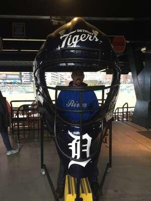 Russell  attended Detroit Tigers vs. Seattle Mariners - MLB on Jun 9th 2021 via VetTix