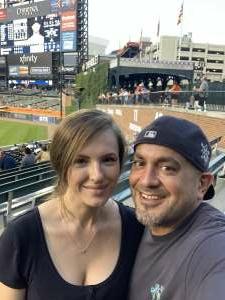 Rick Carrizales  attended Detroit Tigers vs. Seattle Mariners - MLB on Jun 9th 2021 via VetTix