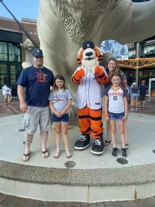 Jason attended Detroit Tigers vs. Seattle Mariners - MLB on Jun 9th 2021 via VetTix