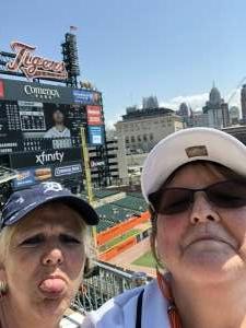 Laura F. attended Detroit Tigers vs. Seattle Mariners - MLB on Jun 10th 2021 via VetTix