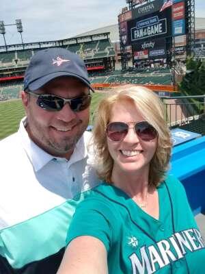 Kami and Phil attended Detroit Tigers vs. Seattle Mariners - MLB on Jun 10th 2021 via VetTix