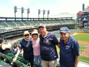 Richard Saigh attended Detroit Tigers vs. Seattle Mariners - MLB on Jun 10th 2021 via VetTix