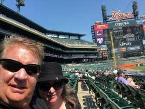 James Sinclair attended Detroit Tigers vs. Seattle Mariners - MLB on Jun 10th 2021 via VetTix