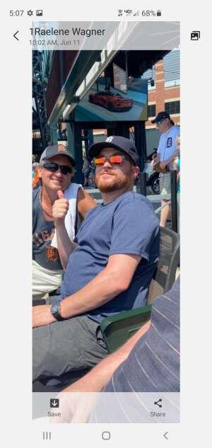 Todd attended Detroit Tigers vs. Seattle Mariners - MLB on Jun 10th 2021 via VetTix