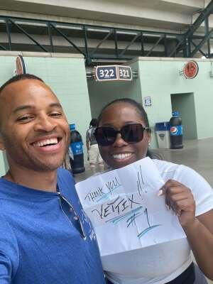 Rob attended Detroit Tigers vs. Seattle Mariners - MLB on Jun 10th 2021 via VetTix