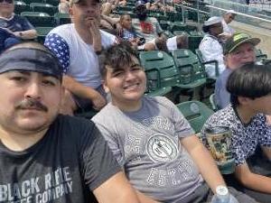 Aaron9216  attended Detroit Tigers vs. Seattle Mariners - MLB on Jun 10th 2021 via VetTix