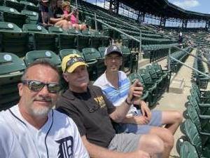 Scott attended Detroit Tigers vs. Seattle Mariners - MLB on Jun 10th 2021 via VetTix