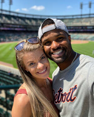 Stevie & Lindsay attended Detroit Tigers vs. Seattle Mariners - MLB on Jun 10th 2021 via VetTix