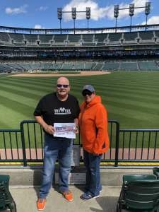 Charles Ostrander attended Detroit Tigers vs. Seattle Mariners - MLB on Jun 10th 2021 via VetTix