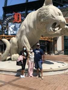 Randal Wyatt attended Detroit Tigers vs. Seattle Mariners - MLB on Jun 10th 2021 via VetTix