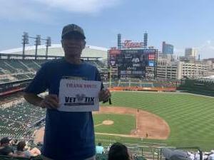 Steve attended Detroit Tigers vs. Seattle Mariners - MLB on Jun 10th 2021 via VetTix