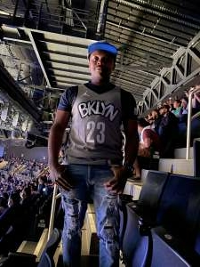Reon Greene attended Brooklyn Nets vs. Boston Celtics - NBA - First Round Playoffs! ** Vaccinated Fan Section Only ** on Jun 1st 2021 via VetTix