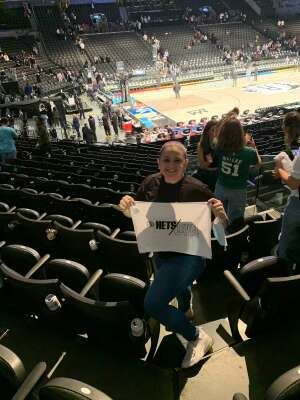 Aleysha attended Brooklyn Nets vs. Boston Celtics - NBA - First Round Playoffs! ** Vaccinated Fan Section Only ** on Jun 1st 2021 via VetTix