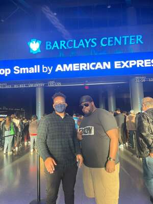 Erick  attended Brooklyn Nets vs. Boston Celtics - NBA - First Round Playoffs! ** Vaccinated Fan Section Only ** on Jun 1st 2021 via VetTix