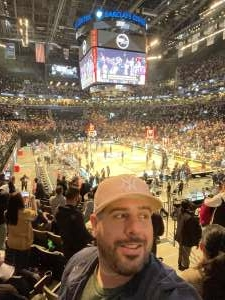 Sonny attended Brooklyn Nets vs. Boston Celtics - NBA - First Round Playoffs! ** Vaccinated Fan Section Only ** on Jun 1st 2021 via VetTix