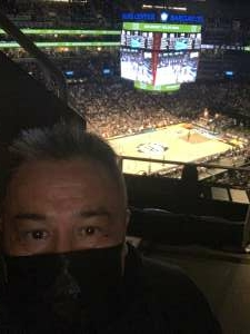 Paul Dela Cruz attended Brooklyn Nets vs. Boston Celtics - NBA - First Round Playoffs! ** Vaccinated Fan Section Only ** on Jun 1st 2021 via VetTix
