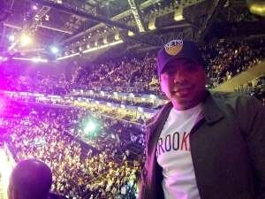Aaron Lefton attended Brooklyn Nets vs. Boston Celtics - NBA - First Round Playoffs! ** Vaccinated Fan Section Only ** on Jun 1st 2021 via VetTix