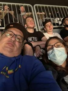 David Korman attended Brooklyn Nets vs. Boston Celtics - NBA - First Round Playoffs! ** Vaccinated Fan Section Only ** on Jun 1st 2021 via VetTix