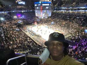 Zainab James attended Brooklyn Nets vs. Boston Celtics - NBA - First Round Playoffs! ** Vaccinated Fan Section Only ** on Jun 1st 2021 via VetTix