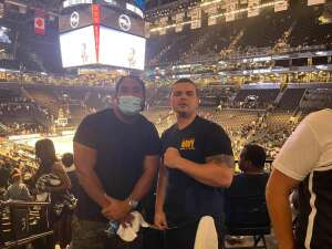 A Hernandez attended Brooklyn Nets vs. Boston Celtics - NBA - First Round Playoffs! ** Vaccinated Fan Section Only ** on Jun 1st 2021 via VetTix