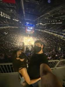 Mark attended Brooklyn Nets vs. Boston Celtics - NBA - First Round Playoffs! ** Vaccinated Fan Section Only ** on Jun 1st 2021 via VetTix