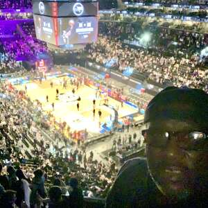 RUDOLPH Barnes attended Brooklyn Nets vs. Boston Celtics - NBA - First Round Playoffs! ** Vaccinated Fan Section Only ** on Jun 1st 2021 via VetTix