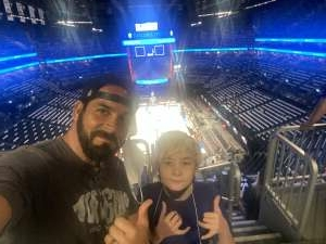 E-6 JC  attended Brooklyn Nets vs. Boston Celtics - NBA - First Round Playoffs! ** Vaccinated Fan Section Only ** on Jun 1st 2021 via VetTix