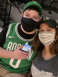 Michael attended Brooklyn Nets vs. Boston Celtics - NBA - First Round Playoffs! ** Vaccinated Fan Section Only ** on Jun 1st 2021 via VetTix