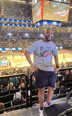 Bmac attended Brooklyn Nets vs. Boston Celtics - NBA - First Round Playoffs! ** Vaccinated Fan Section Only ** on Jun 1st 2021 via VetTix