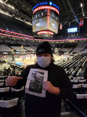 Can attended Brooklyn Nets vs. Boston Celtics - NBA - First Round Playoffs! ** Vaccinated Fan Section Only ** on Jun 1st 2021 via VetTix