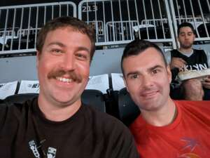 Benjamin attended Brooklyn Nets vs. Boston Celtics - NBA - First Round Playoffs! ** Vaccinated Fan Section Only ** on Jun 1st 2021 via VetTix