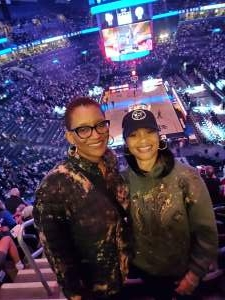 Tarsh attended Brooklyn Nets vs. Boston Celtics - NBA - First Round Playoffs! ** Vaccinated Fan Section Only ** on Jun 1st 2021 via VetTix