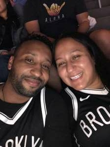 Will Silvestre attended Brooklyn Nets vs. Boston Celtics - NBA - First Round Playoffs! ** Vaccinated Fan Section Only ** on Jun 1st 2021 via VetTix