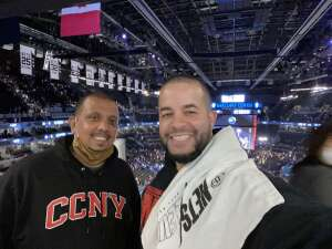 Manny Martinez attended Brooklyn Nets vs. Boston Celtics - NBA - First Round Playoffs! ** Vaccinated Fan Section Only ** on Jun 1st 2021 via VetTix